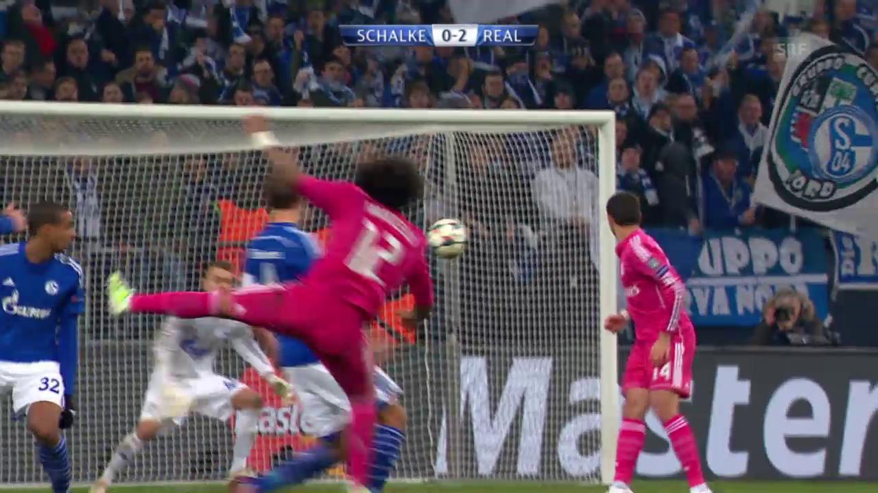 Marcelos Traumtor gegen Schalke