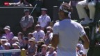Video «Tennis: Wimbledon, die Erstrundenpartien von Nadal und Murray» abspielen