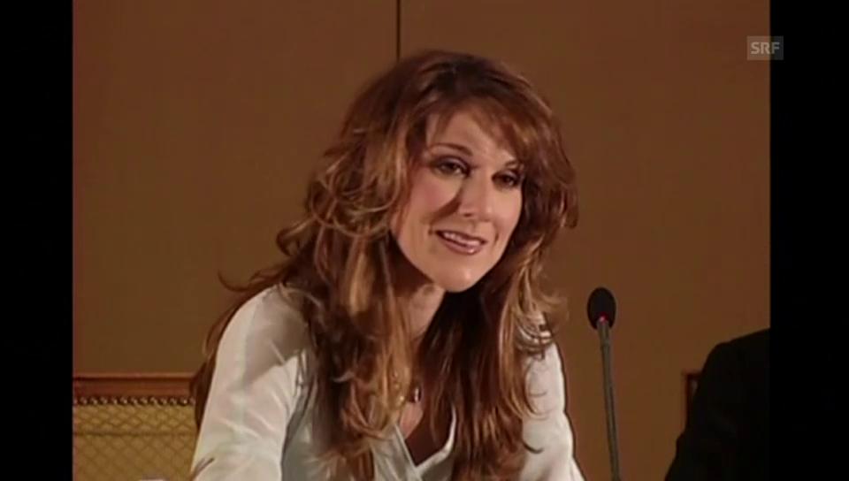 Céline Dion über ihre Familie (2002)