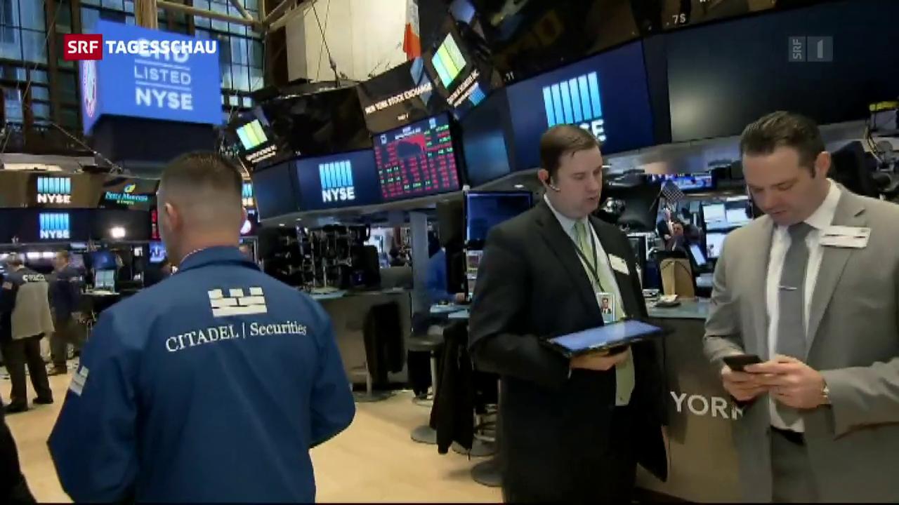 Börsen-Korrektur weltweit