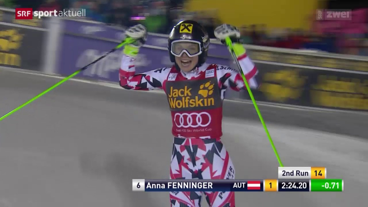 Ski: Frauen-Riesenslalom in Are