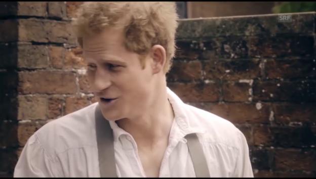 Video «Schauspieldebut von Prinz Harry» abspielen