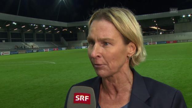 Video «Voss-Tecklenburg: «War ein klar verdienter Sieg»» abspielen