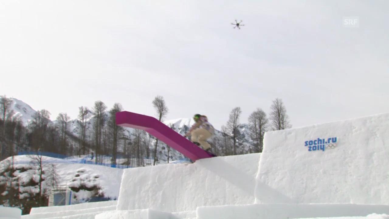 Snowboard Slopestyle: Der Sieges-Run von Jamie Anderon (sotschi direkt, 9.2.2014)