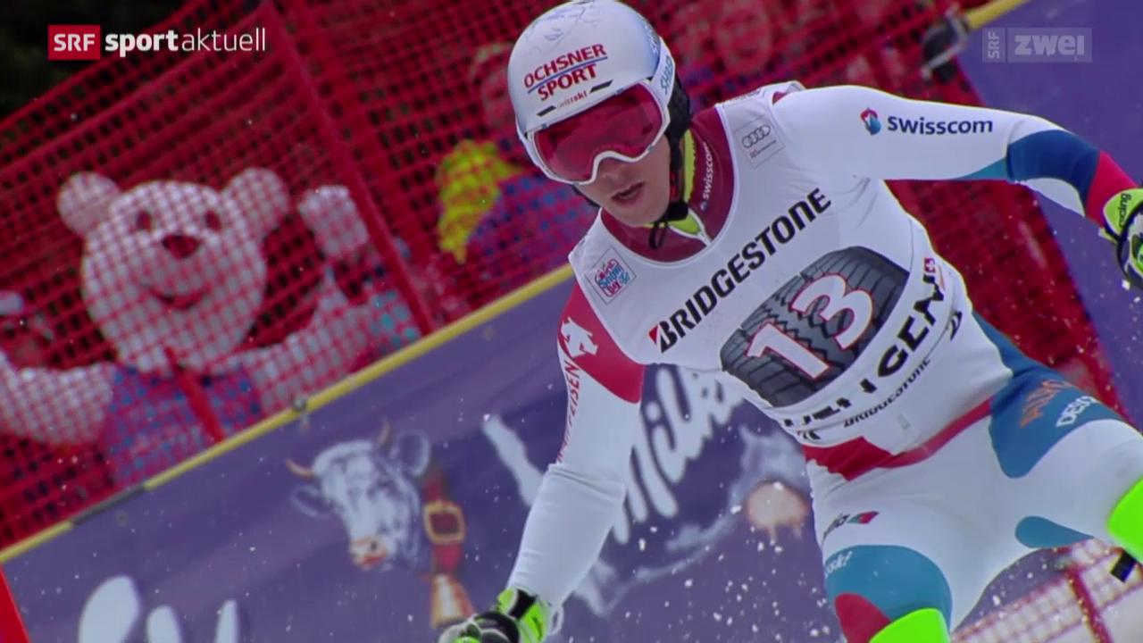 Ski alpin: Super-Kombi in Wengen