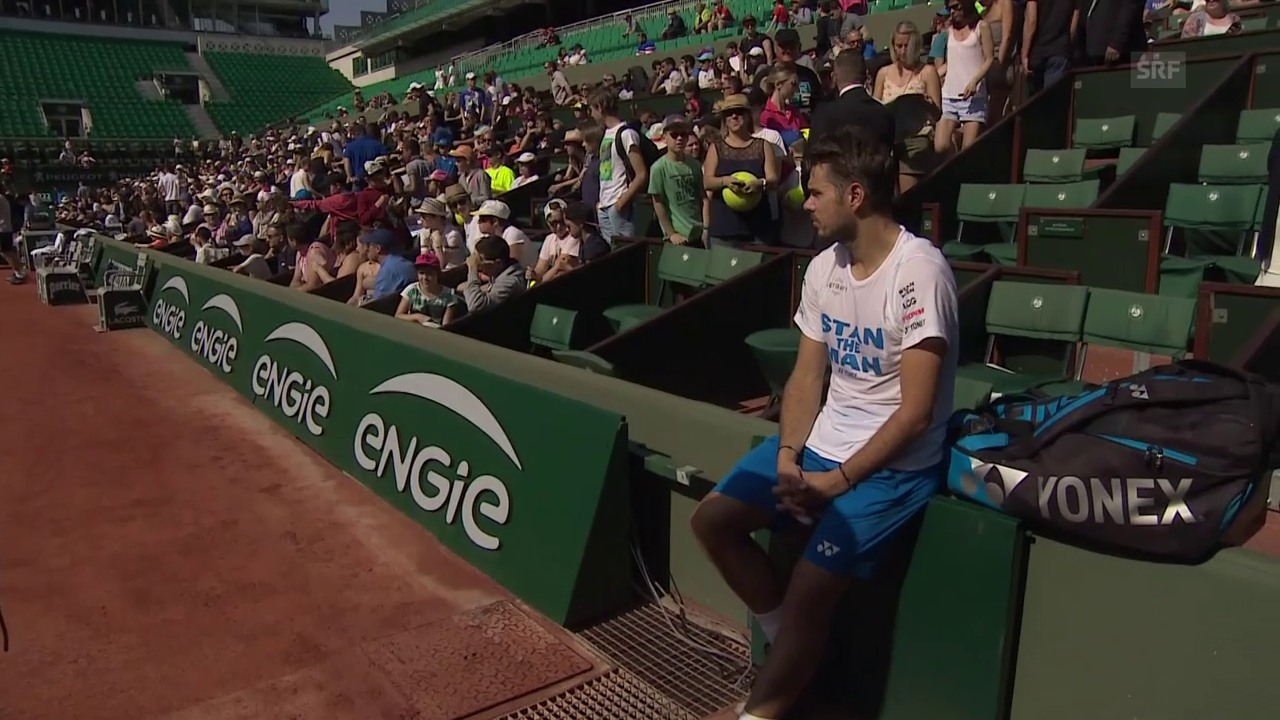 Wawrinka vor wegweisenden French Open