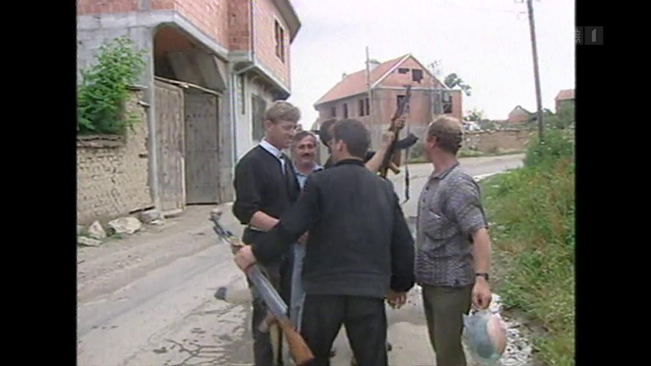 Wie ein Flüchtling die Kosovaren-Armee aufbaute
