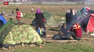 Video «Notstand auf der Balkanroute » abspielen
