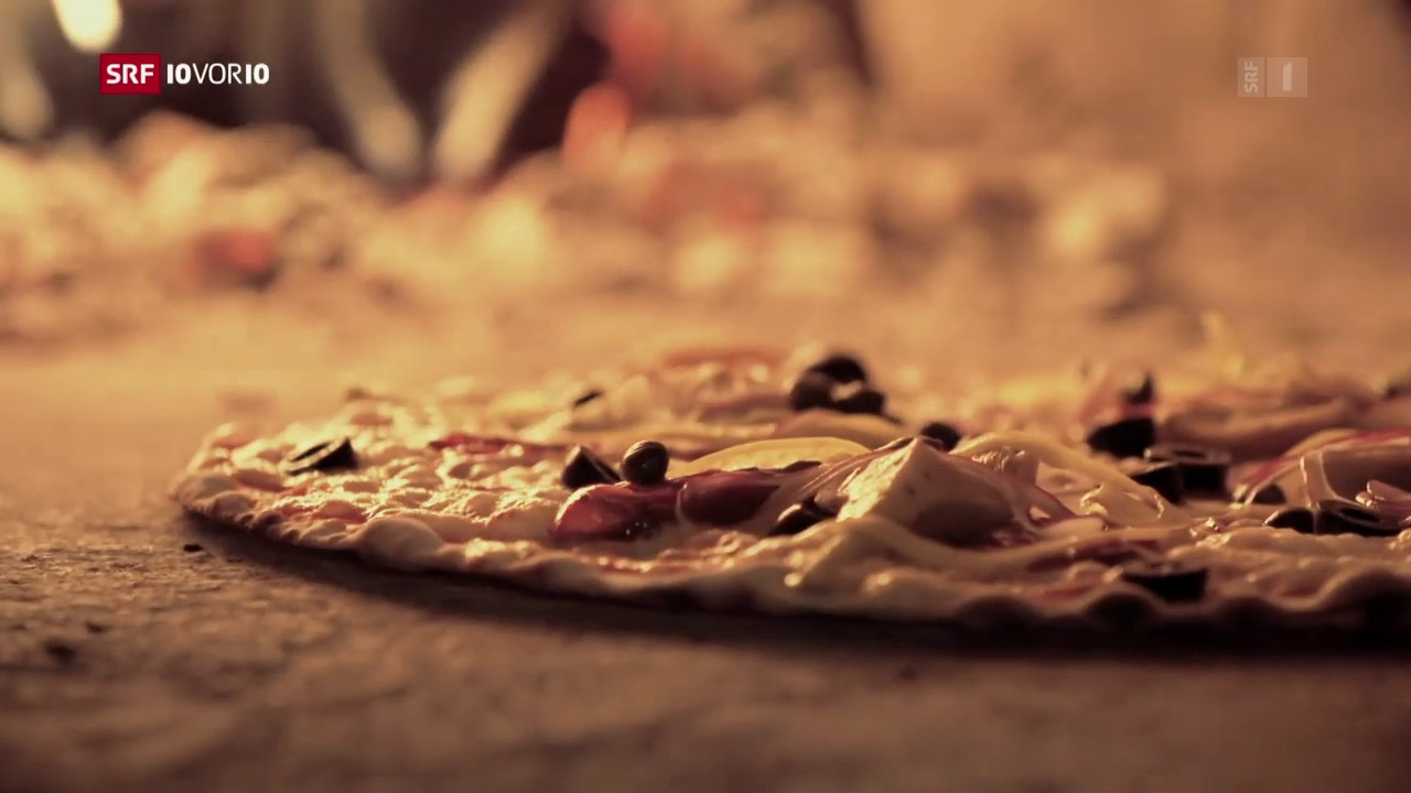 «Das Menü von morgen»: Pizza, Pasta, Panettone