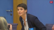 Link öffnet eine Lightbox. Video Frauke Petry will nicht in AfD-Fraktion abspielen