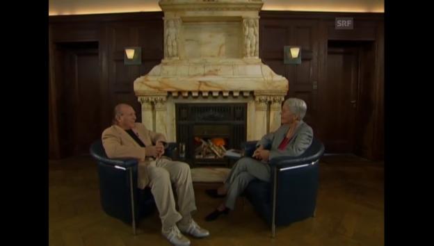 Video «Imre Kertész: Das Wissen vom Menschen (Sternstunde Philosophie vom 28.9.2003)» abspielen