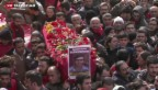 Video «Beerdigung wird zur Demo gegen Erdogan» abspielen