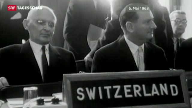 50 Jahre Schweiz im Europarat