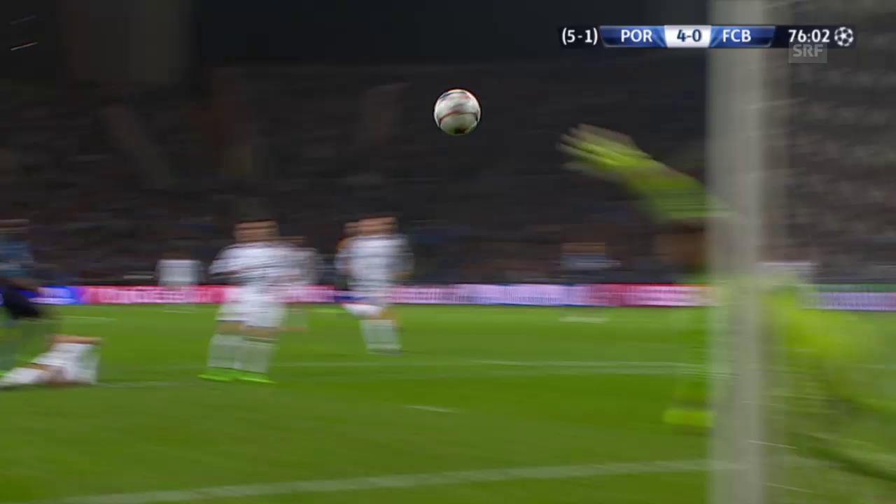 Fussball: Champions League, Achtelfinal, Porto - Basel