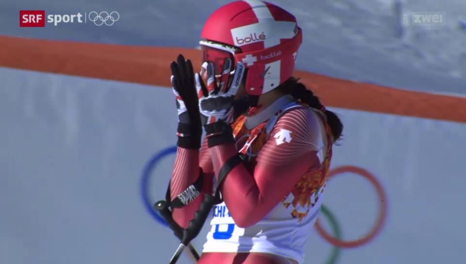 Ski: Dominique Gisins Abfahrtssieg