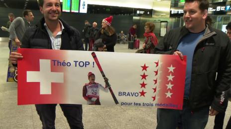 Video «Der 3-fache Goldmedaillengewinner Théo Gmür ist zurück» abspielen