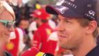 Video «Formel 1: Sebastian Vettel über seinen Wechsel zu Ferrari» abspielen