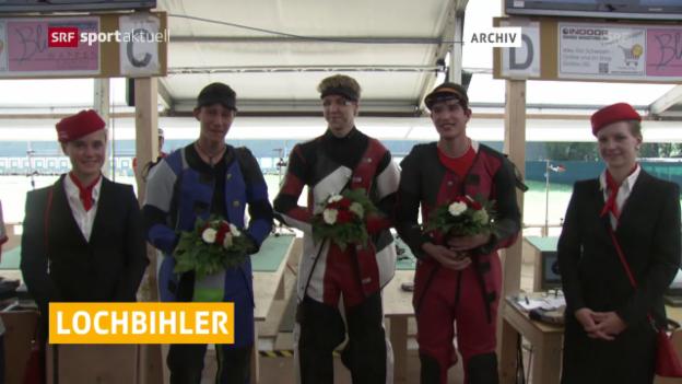 Video «Lochbihler und Co. im Goldrausch («sportaktuell»)» abspielen