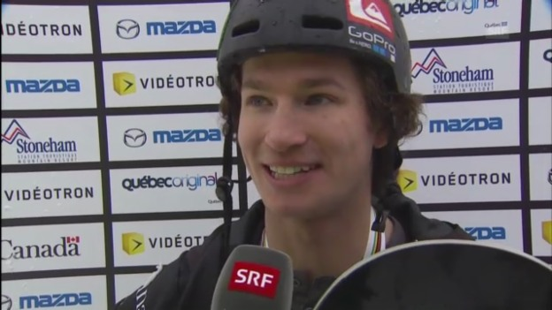 Video «Snowboard-WM: Interview mit Iouri Podladtchikov» abspielen