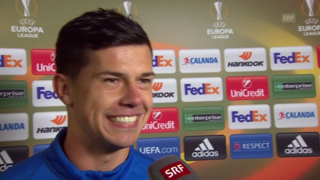 Video «Fussball:Europa League, Interview Darko Jevtic (Posen)» abspielen