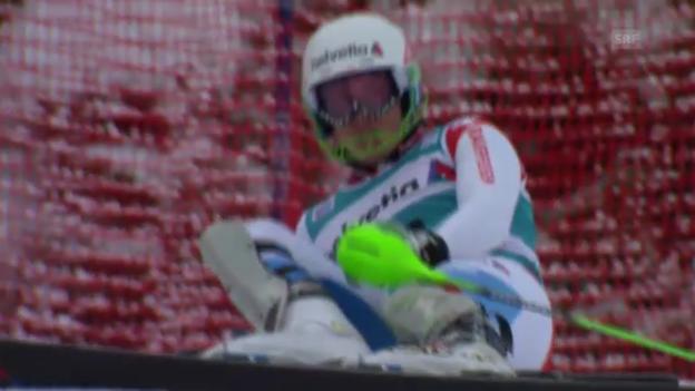 Video «Ski: 2. Lauf Luca Aerni («sportlive»)» abspielen