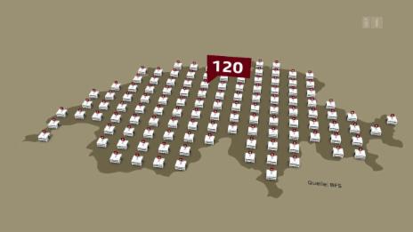 Video «Schweiz: Wie viele Spitäler braucht es?» abspielen