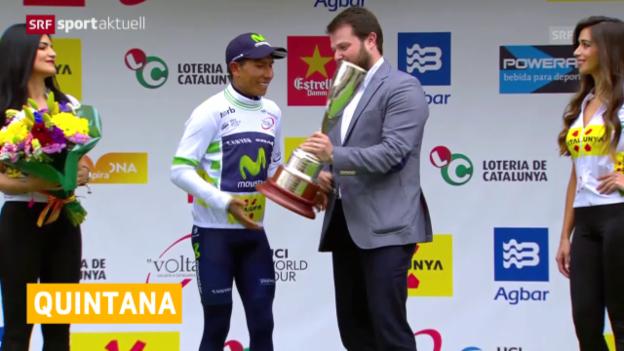 Video «Quintana gewinnt Katalonien-Rundfahrt» abspielen