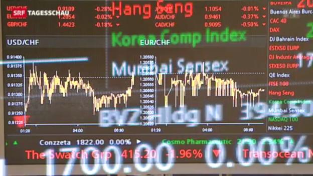 Video «Turbulenzen an den Börsen» abspielen
