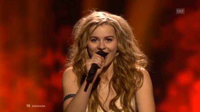 Dänemark - Emmelie de Forest mit «Only Teardrops»
