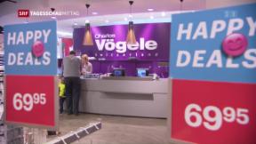Video «Charles Vögele will Sparmassnahmen ergreifen» abspielen
