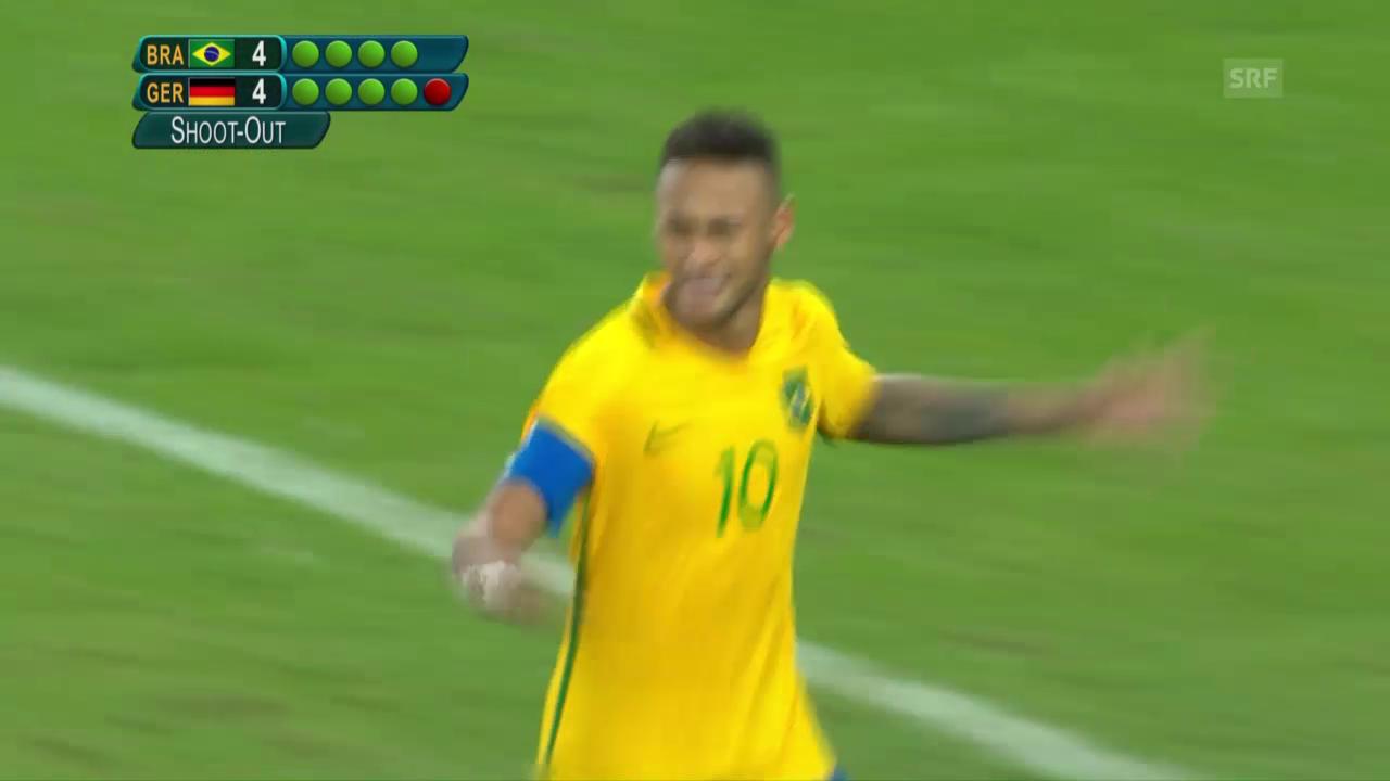 Neymar mit dem krönenden Schlusspunkt im Penaltyschiessen