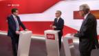 Video «FOKUS: Kurt Fluri und Albert Rösti im Streitgespräch» abspielen