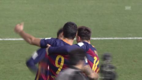Video «Fussball: Final Klub-WM, 2:0 Suarez» abspielen