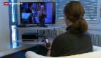 Video «Die Fernsehgewohnheiten verändern sich» abspielen