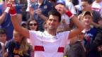 Video «Djokovic ohne Satzverlust in Paris» abspielen