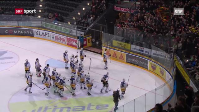 Dernière der NHL-Stars bei Zug - Bern («sportpanorama»)