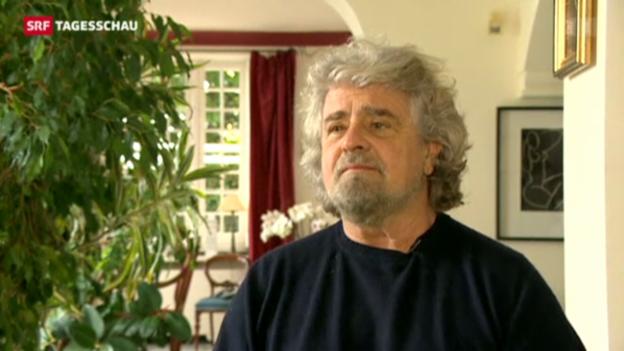 Video «Grillo sagt weiter «No»» abspielen