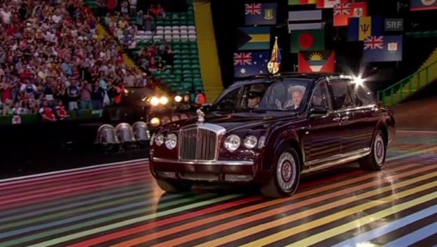Video «Die Eröffnung der Commonwealth Games durch die Queen» abspielen