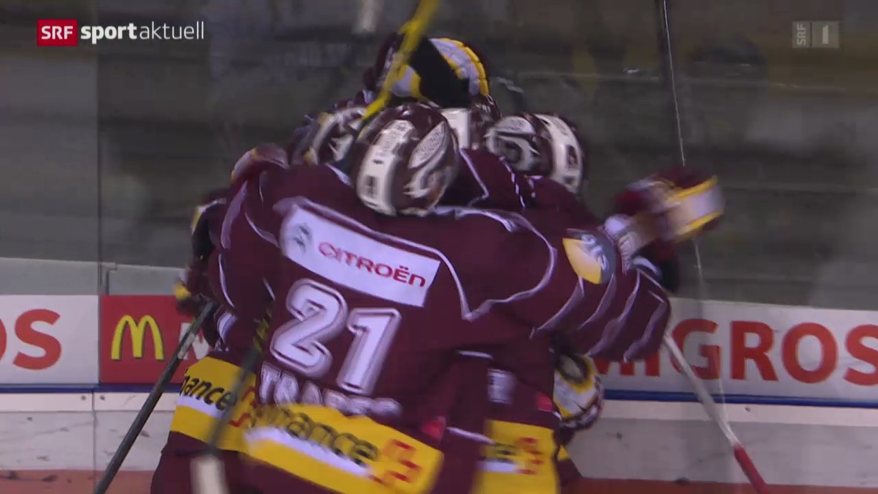 Eishockey: NLA, Genf - ZSC Lions