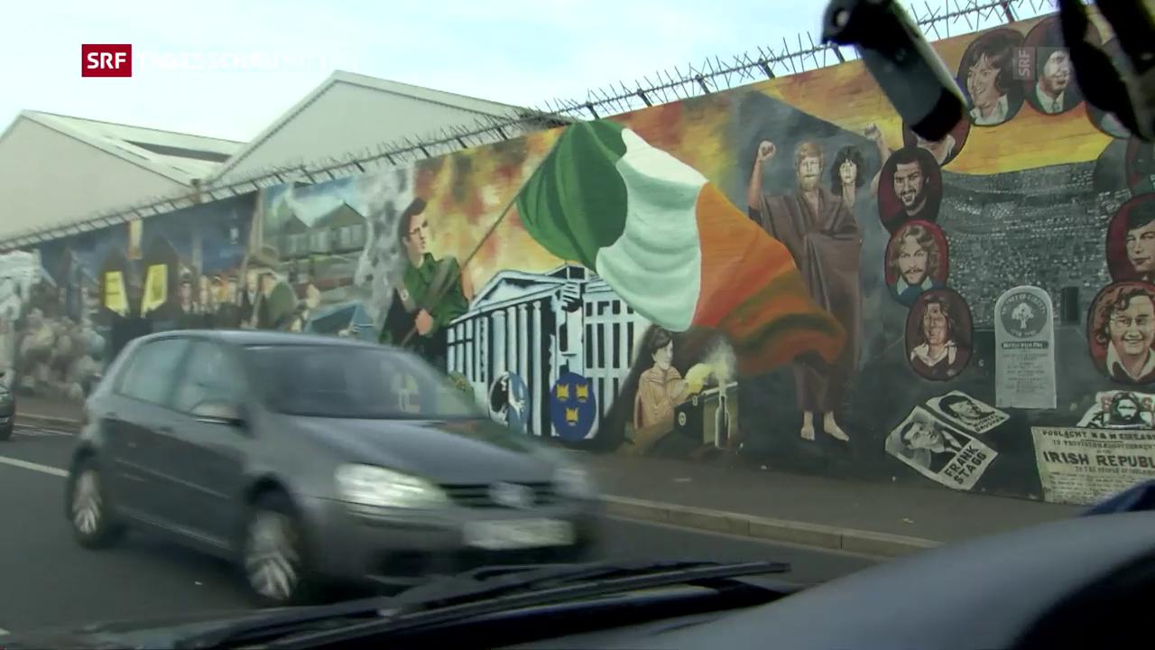 Brexit könnte dem nordirischen Friedensprozess Steine in den Weg legen