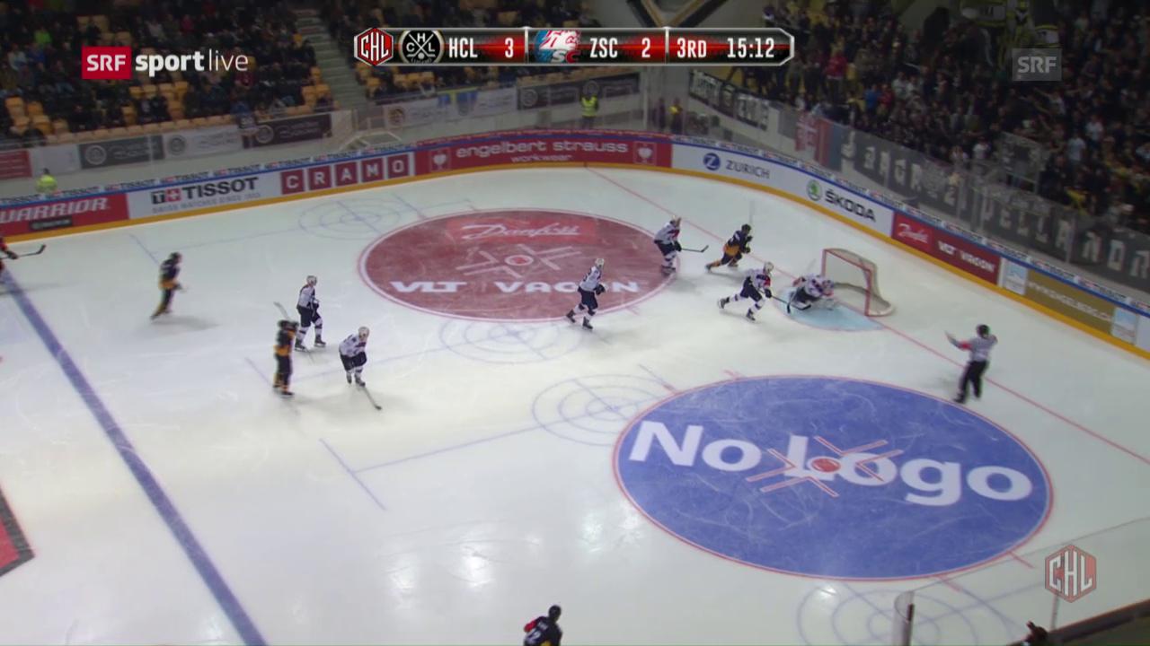 Lugano gewinnt das Schweizer CHL-Duell