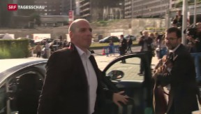 Video «Wieder beraten EU-Finanzminister über Griechenland» abspielen