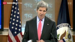 Video «Reaktionen auf die Unruhen in Ägypten» abspielen