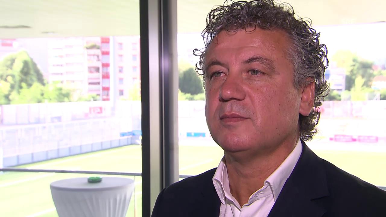 Fussball: FC Wil, Interview mit Sportchef Erdal Keser