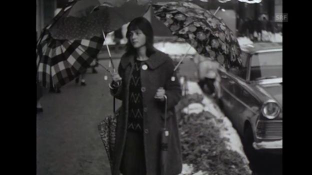 Video «Nun tauschen sie wieder (Freitagsmagazin, 30.12.1964)» abspielen