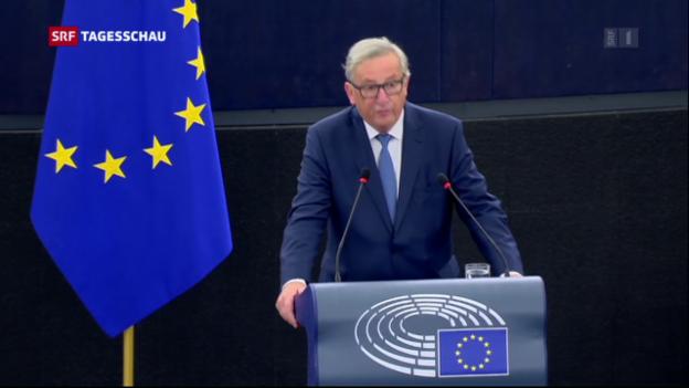 Video «Junker zur Lage der EU» abspielen