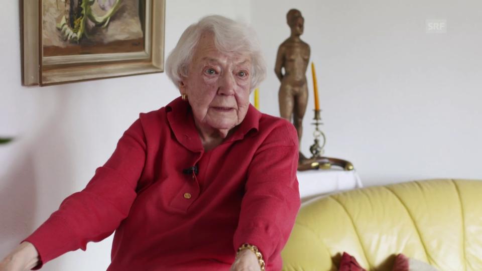 Hedy Langendorfs Angehörigen ist es nicht wohl dabei, dass die Seniorin alleine zu Hause ist.