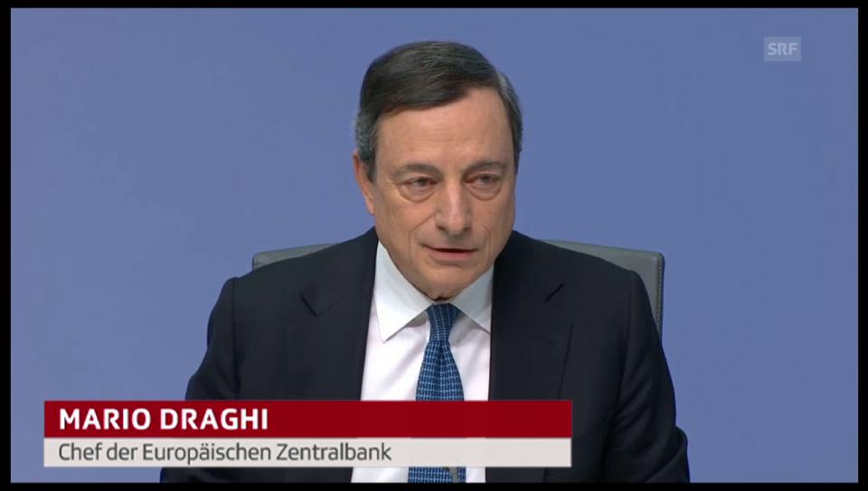 Quote von EZB-Chef Mario Draghi