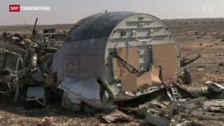 Video «Weitere Verwirrung um russisches Flugzeug» abspielen