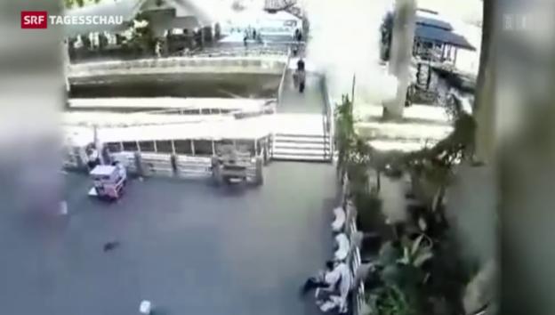 Video «Neue Explosion in Bangkok» abspielen